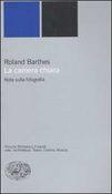 Copertina dell'audiolibro La camera chiara di BARTHES, Roland