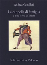 Copertina dell'audiolibro La cappella di famiglia e altre storie di Vigata di CAMILLERI, Andrea