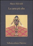 Copertina dell'audiolibro La carta piu' alta di MALVALDI, Marco