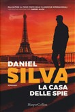 Copertina dell'audiolibro La casa delle spie di SILVA, Daniel