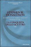 Copertina dell'audiolibro La conquista dello scettro di DONALDSON, Stephen