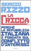 Copertina dell'audiolibro La cricca di RIZZO, Sergio