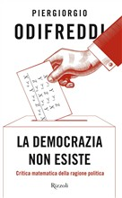 Copertina dell'audiolibro La democrazia non esiste di ODIFREDDI, Piergiorgio