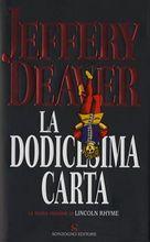 Copertina dell'audiolibro La dodicesima carta di DEAVER, Jeffery