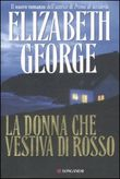 Copertina dell'audiolibro La donna che vestiva di rosso di GEORGE, Elizabeth