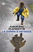 Copertina dell'audiolibro La donna è un'isola di OLAFSDOTTIR, Audur Ava