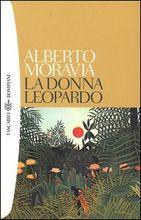 Copertina dell'audiolibro La donna leopardo di MORAVIA, Alberto