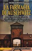 Copertina dell'audiolibro La farmacia di Auschwitz di POSNER, Patricia