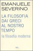 Copertina dell'audiolibro La filosofia moderna di SEVERINO, Emanuele