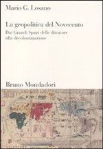 Copertina dell'audiolibro La geopolitica del Novecento di LOSANO, Mario G.