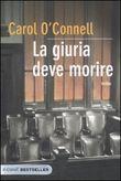 Copertina dell'audiolibro La giuria deve morire di O'CONNELL, Carol