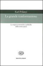 Copertina dell'audiolibro La grande trasformazione di POLANYI, Karl