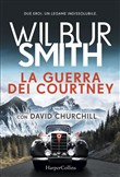 Copertina dell'audiolibro La guerra dei Courtney di SMITH, Wilbur con CHURCHILL, David