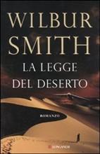 Copertina dell'audiolibro La legge del deserto di SMITH, Wilbur