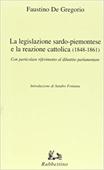 Copertina dell'audiolibro La legislazione sardo-piemontese e la reazione cattolica (1848-1861) di DE GREGORIO, Faustino