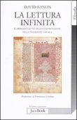 Copertina dell'audiolibro La lettura infinita di BANON, David