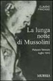 Copertina dell'audiolibro La lunga notte di Mussolini