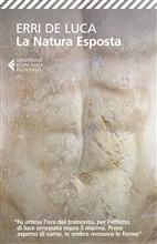 Copertina dell'audiolibro La natura esposta di DE LUCA, Erri