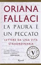Copertina dell'audiolibro La paura è un peccato di FALLACI, Oriana