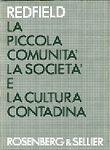 Copertina dell'audiolibro La piccola comunità, la società e la cultura contadina