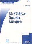Copertina dell'audiolibro La politica sociale europea di LANZARO, Antonio