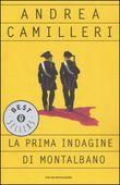Copertina dell'audiolibro La prima indagine di Montalbano di CAMILLERI, Andrea