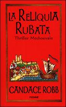 Copertina dell'audiolibro La reliquia rubata di ROBB, Candace