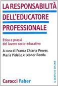 Copertina dell'audiolibro La responsabilità dell'educatore professionale di PREVER, Franca