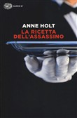 Copertina dell'audiolibro La ricetta dell'assassino di HOLT, Anne