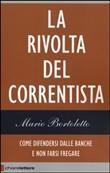 Copertina dell'audiolibro La rivolta del correntista di BORTOLETTO, Mario