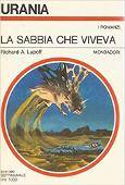 Copertina dell'audiolibro La sabbia che viveva di LUPOFF, Richard A.