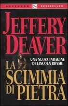 Copertina dell'audiolibro La scimmia di pietra di DEAVER, Jeffery