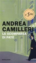 Copertina dell'audiolibro La scomparsa di Patò di CAMILLERI, Andrea