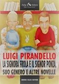 Copertina dell'audiolibro La signora Frola e il signor Ponza, suo genero di PIRANDELLO, Luigi