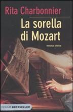 Copertina dell'audiolibro La sorella di Mozart di CHARBONNIER, Rita