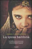 Copertina dell'audiolibro La sposa bambina di VISWANATHAN, Padma