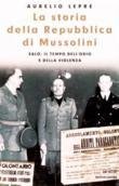 Copertina dell'audiolibro La storia della repubblica di Mussolini di LEPRE, Aurelio