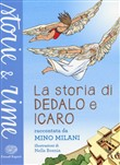 Copertina dell'audiolibro La storia di Dedalo e Icaro