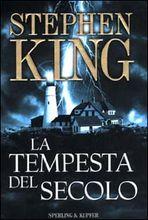 Copertina dell'audiolibro La tempesta del secolo di KING, Stephen