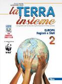 Copertina dell'audiolibro La terra insieme 2  – Europa regioni e stati – Geolaboratorio