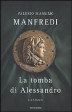 Copertina dell'audiolibro La tomba di Alessandro – L'enigma di MANFREDI, Valerio Massimo