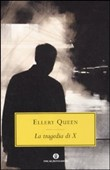 Copertina dell'audiolibro La tragedia di X di QUEEN, Ellery