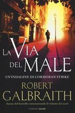 Copertina dell'audiolibro La via del male di GALBRAITH, Robert