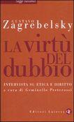 Copertina dell'audiolibro La virtù del dubbio di ZAGREBELSKY, Gustavo