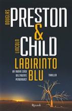 Copertina dell'audiolibro Labirinto blu di PRESTON, Douglas - CHILD, Lincoln