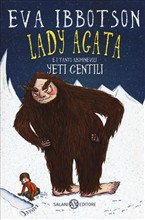 Copertina dell'audiolibro Lady Agata e i tanti abominevoli Yeti gentili di IBBOTSON, Eva