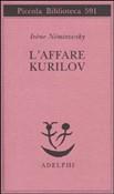 Copertina dell'audiolibro L'affare Kurilov di NEMIROVSKY, Irene