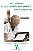 """Copertina dell'audiolibro L'""""allegra montagna di menzogne"""" di DOS PASSOS, John (Trad. Guslandi Silvia)"""
