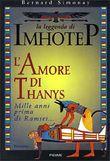 Copertina dell'audiolibro L'amore di Thanys – Vol. IV di SIMONAY, Bernard (Trad. Frediano Sessi)
