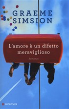 Copertina dell'audiolibro L'amore è un difetto meraviglioso di SIMSION, Graeme